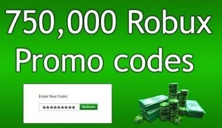robux promo 750k code codes roblox easy