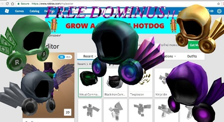 How to Get Free Dominus | Easy Robux Today
