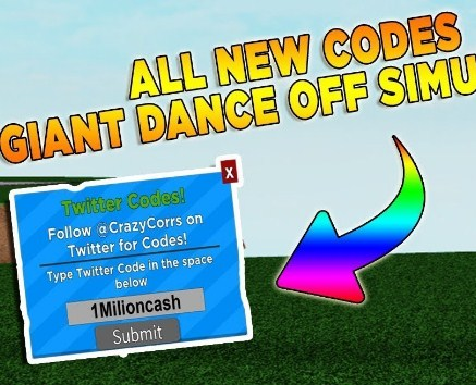 Roblox Giant Dance Off Simulator Codes Easy Robux Today - roblox dance off moves