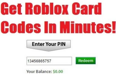 Roblox Pin Code Generator | Easy Robux Today