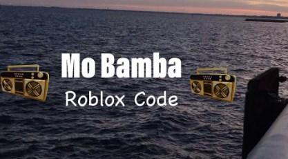 mo bamba song id roblox